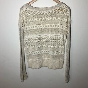 Free People Sweaters - Free People Knit/Lace Sweater